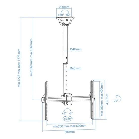 Coussin (30 x 50 cm) Gris